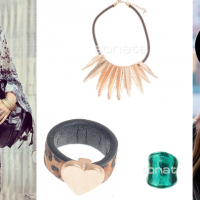 Collares y anillos hipster