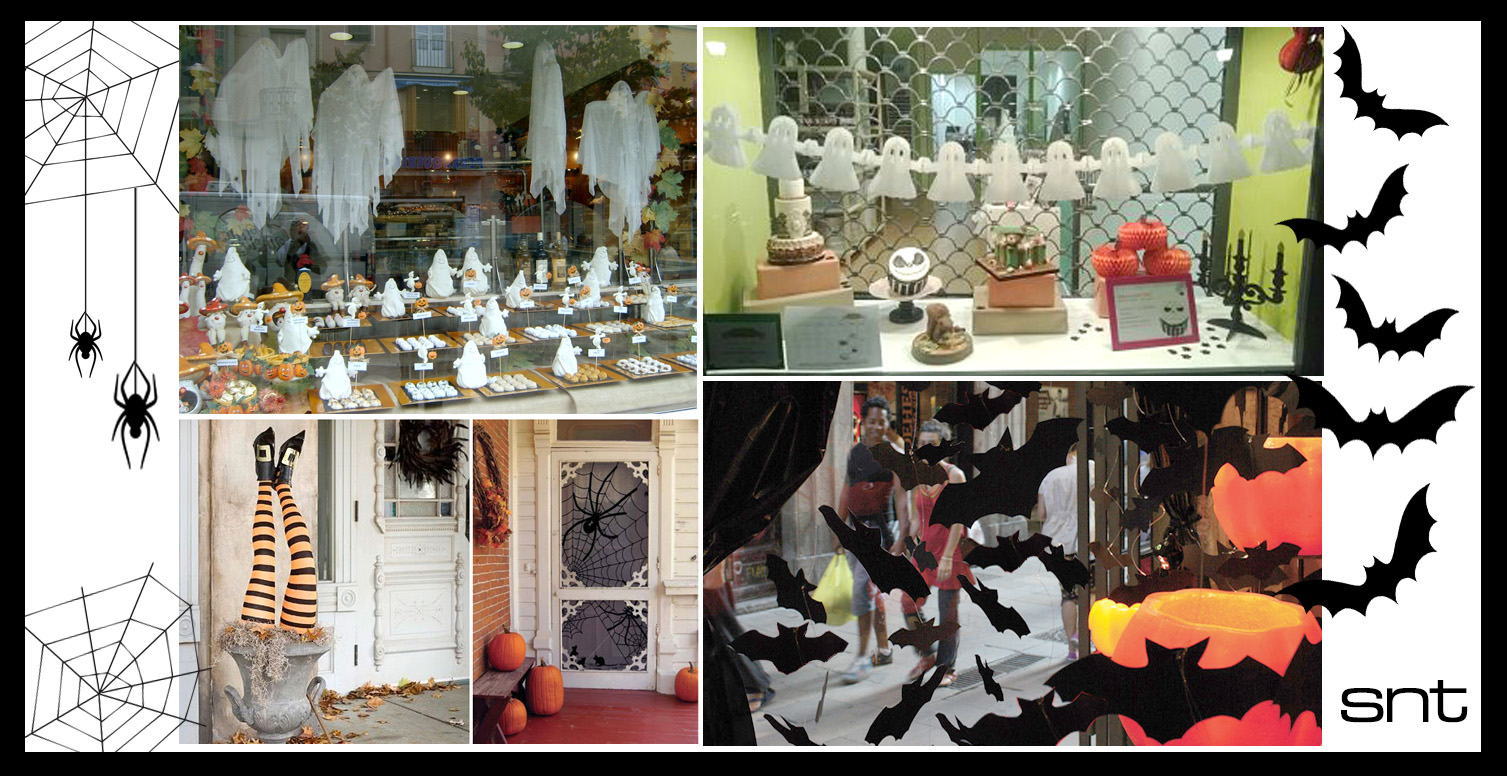 Decora tu escaparate en halloween venta de bisuter a al - Articulos para decoracion escaparates ...